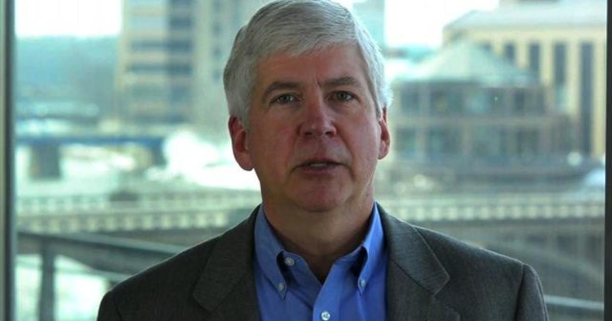 """Rick Snyder: Republican governors have a """"lesson"""" to teach D.C."""