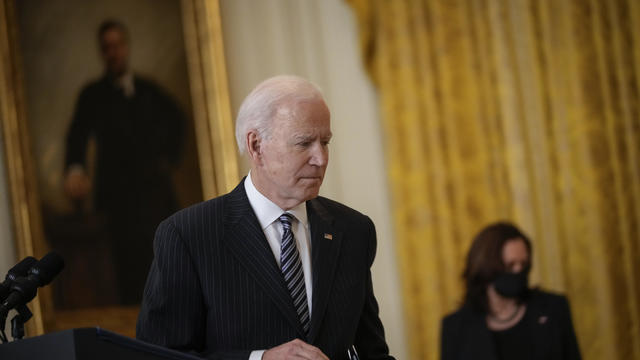 President Biden Delivers Remarks On State Of Vaccinations