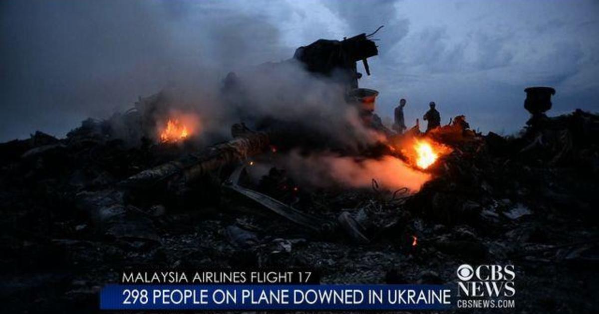 Plane down in Ukraine; Israel-Gaza War