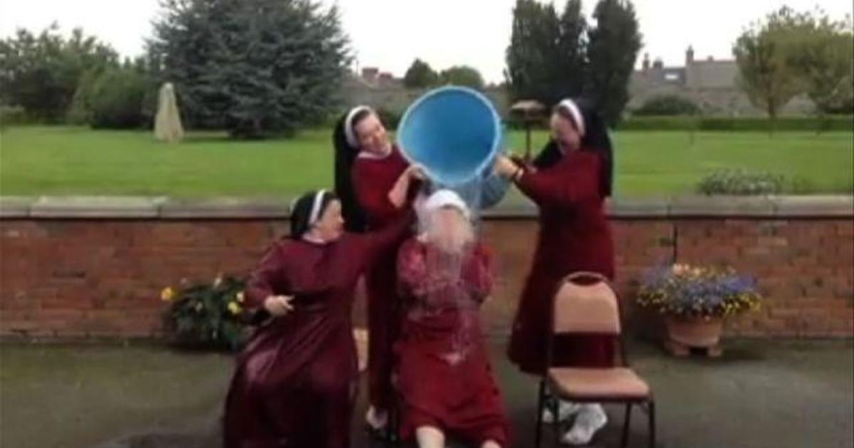 Irish nuns complete ice bucket challenge