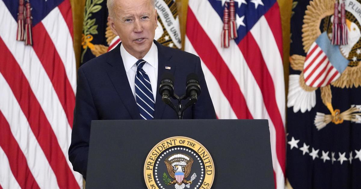 "Biden signals he's open to eliminating Senate filibuster over GOP ""abuse"""