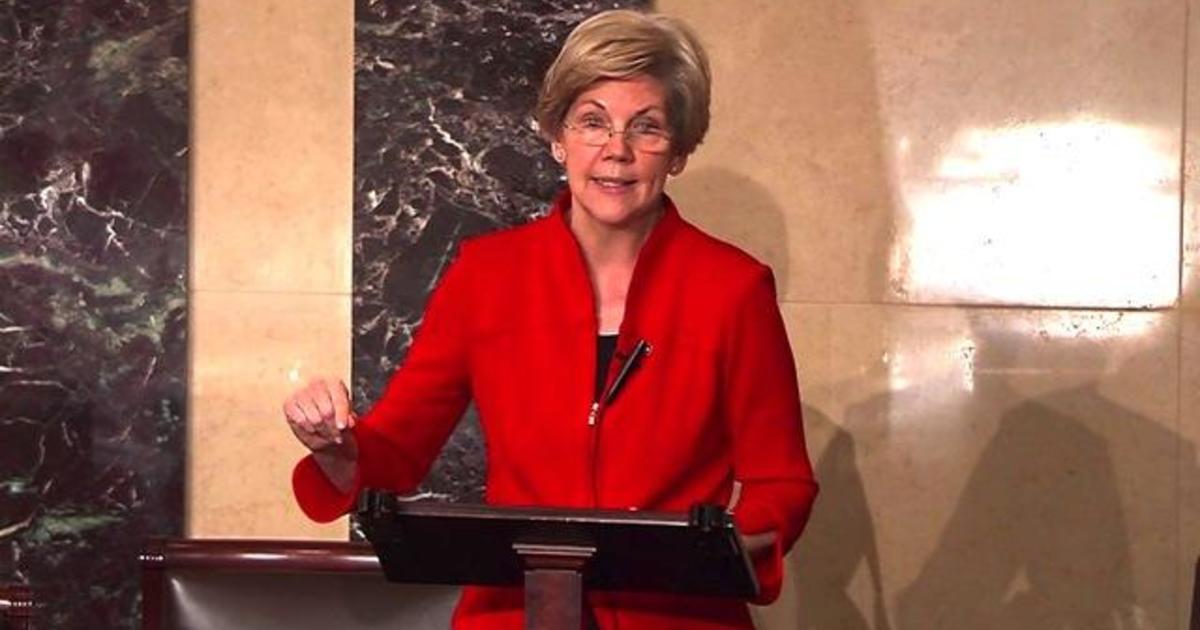 """Elizabeth Warren to GOP: Strip """"Wall Street giveaway"""" from spending bill"""