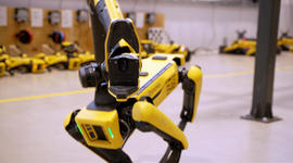 Inside the workshop where robots of the future are being built