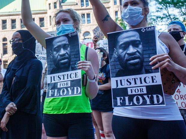 US-POLICE-RACISM-PROTEST-MINORITIES