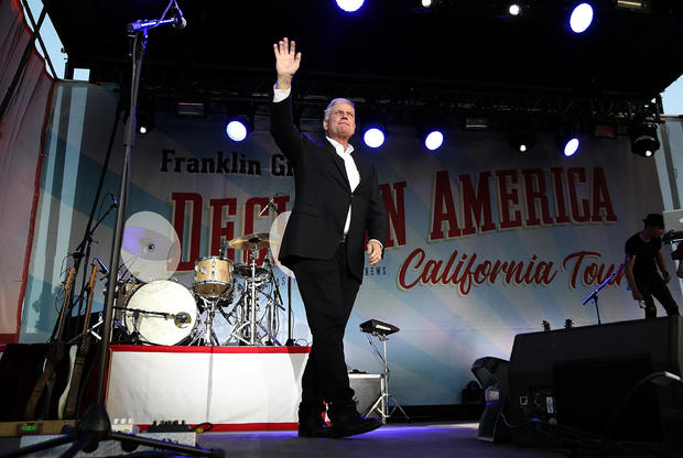 Rev. Franklin Graham Brings Evangelical Message To California Before Primary