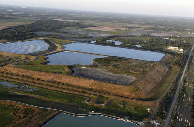 Wastewater Reservoir Leak