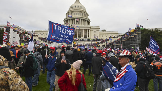 WASHINGTON, DC - JANUARY 6: Protesters take over the Inaugural