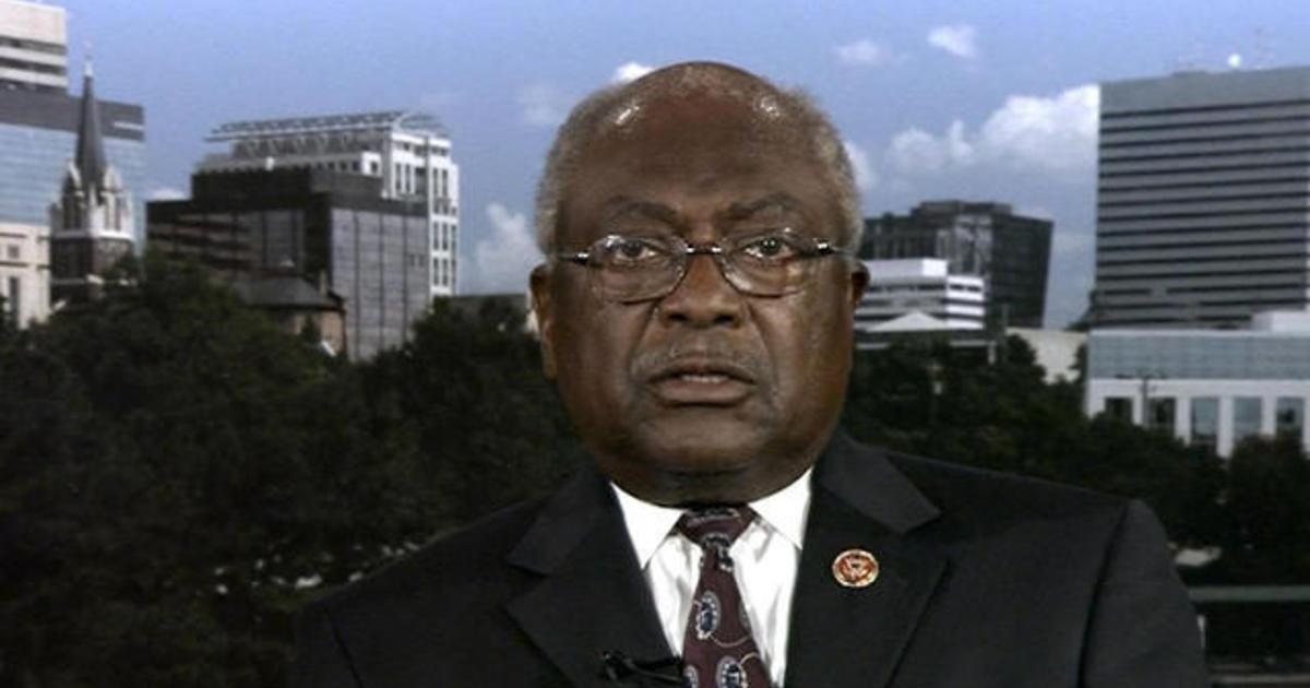 "Congressman Jim Clyburn says Democrats will trim social spending bill ""carefully"""