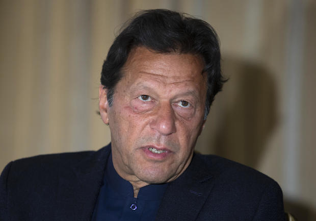 Pakistan's prime minister blames rise in rape cases on the victims