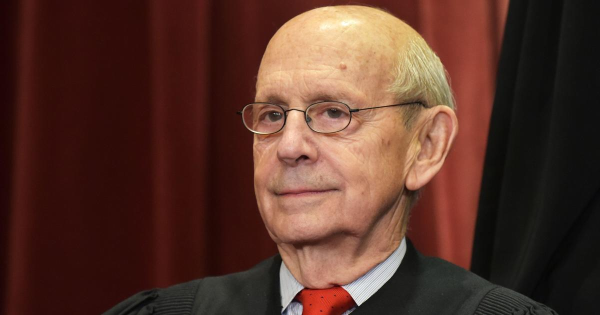 Justice Stephen Breyer warns Supreme Court expansion could erode public trust