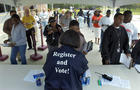 Georgians Go To The Polls During Early Voting Before General Election