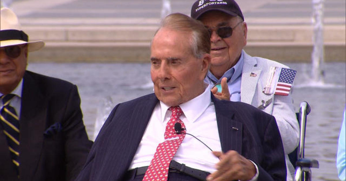 Bob Dole jokes he's running for president in 2016