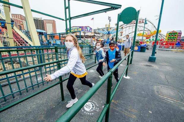Coney Island Amusement Parks Reopen After Long Pandemic Shutdown