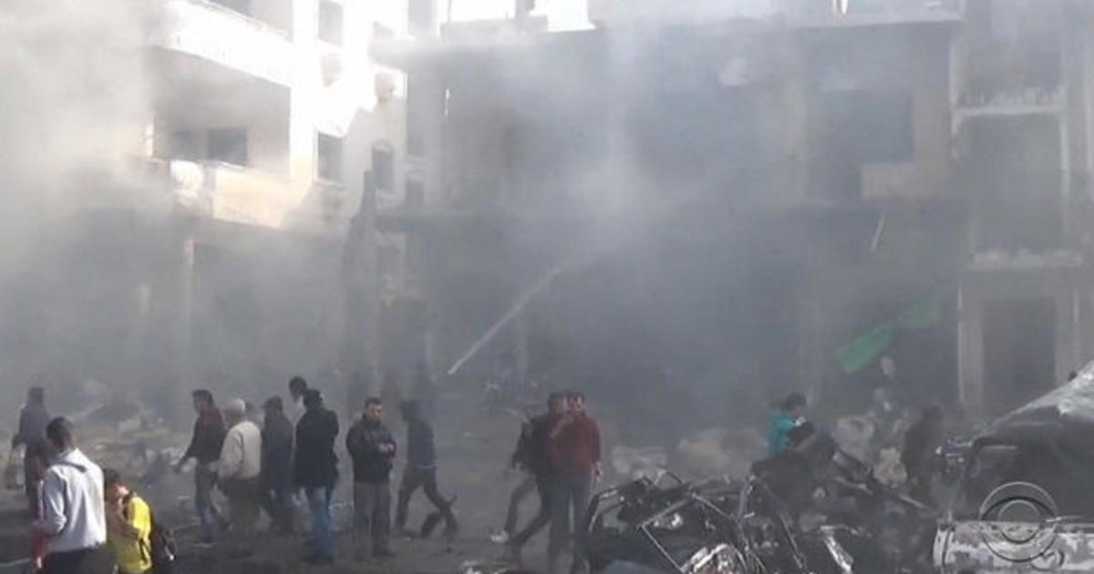Nearly 130 people killed in bombings in Syria