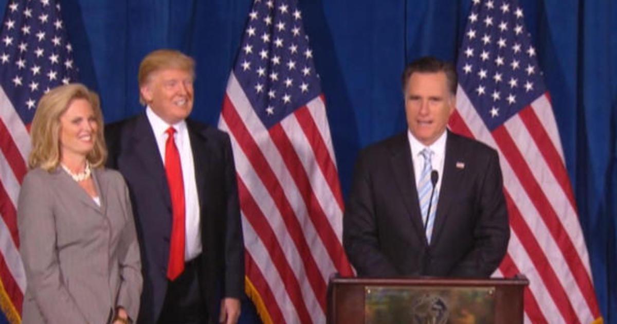 "Mitt Romney to call Donald Trump ""a phony, a fraud"""