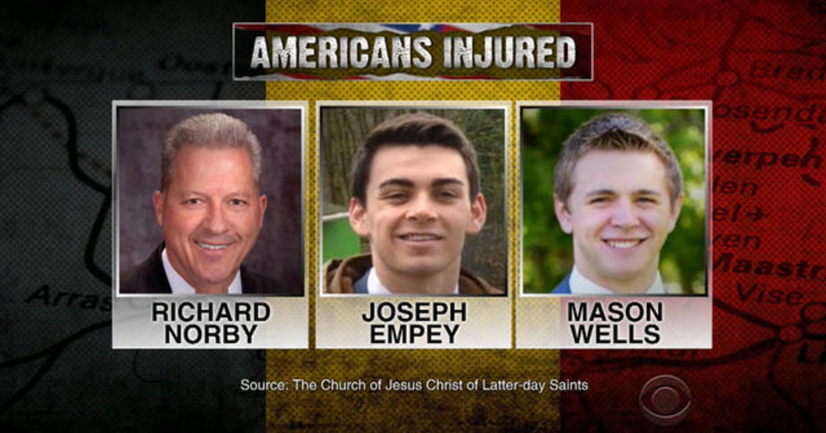 The wounded Americans