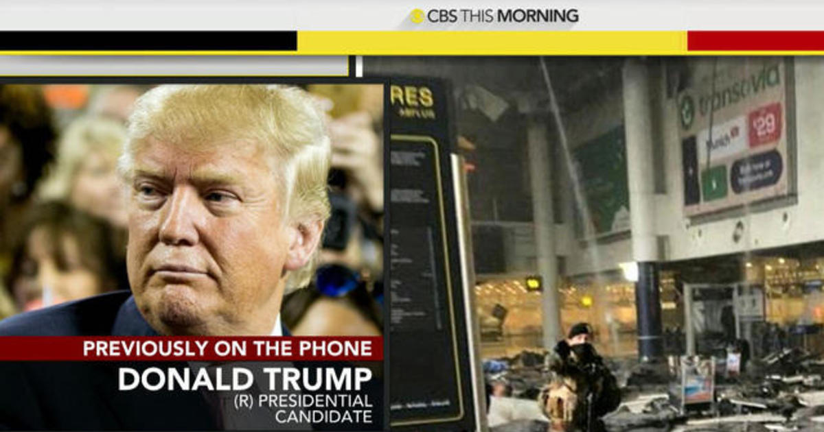 Presidential candidates react to Brussels terror attacks