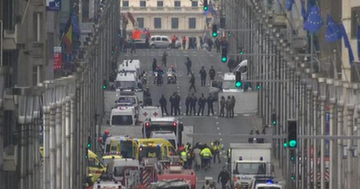 Belgium at highest terror alert level after explosions