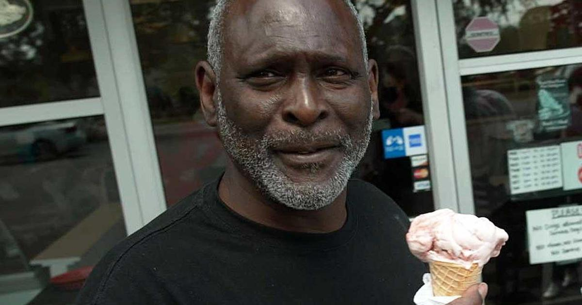 Man freed after nearly 32 years in prison craves one treat: strawberry ice cream