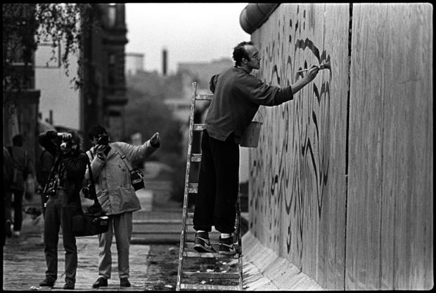 Keith Haring Berlin Wall