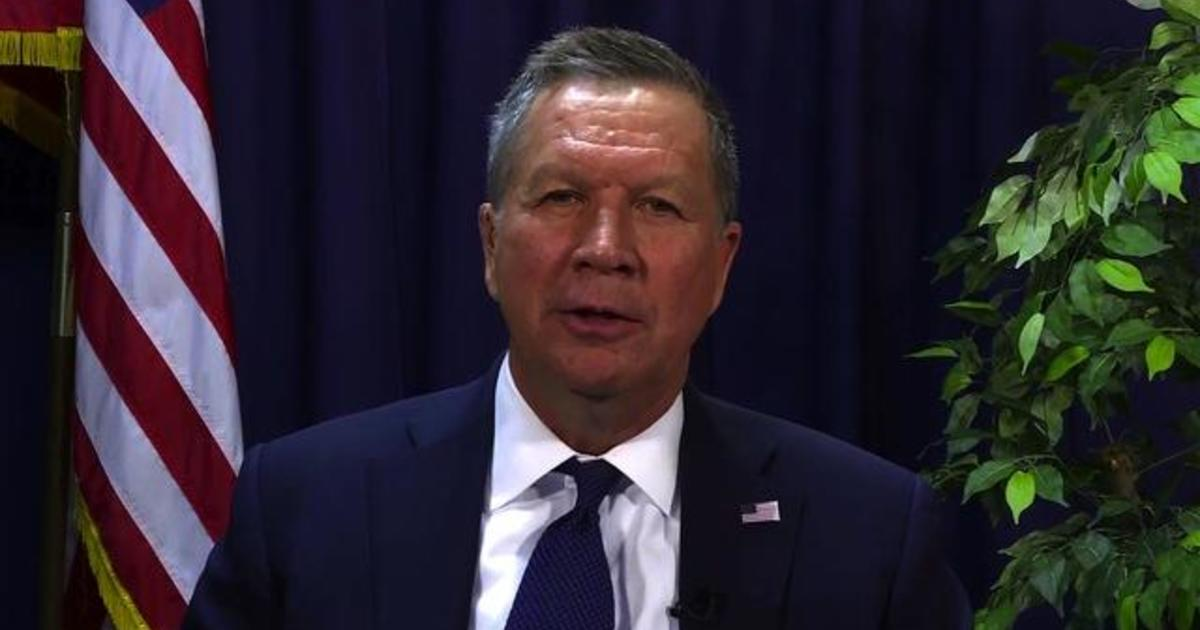 John Kasich: Let voters decide if Hillary Clinton is qualified