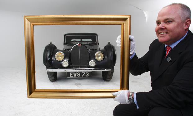 Rare Bugatti to be auctioned