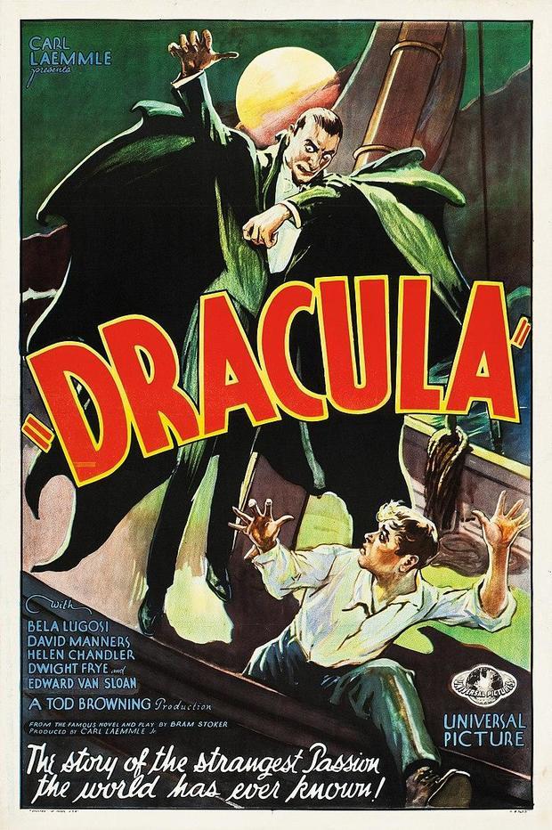 Dracula film poster 1931