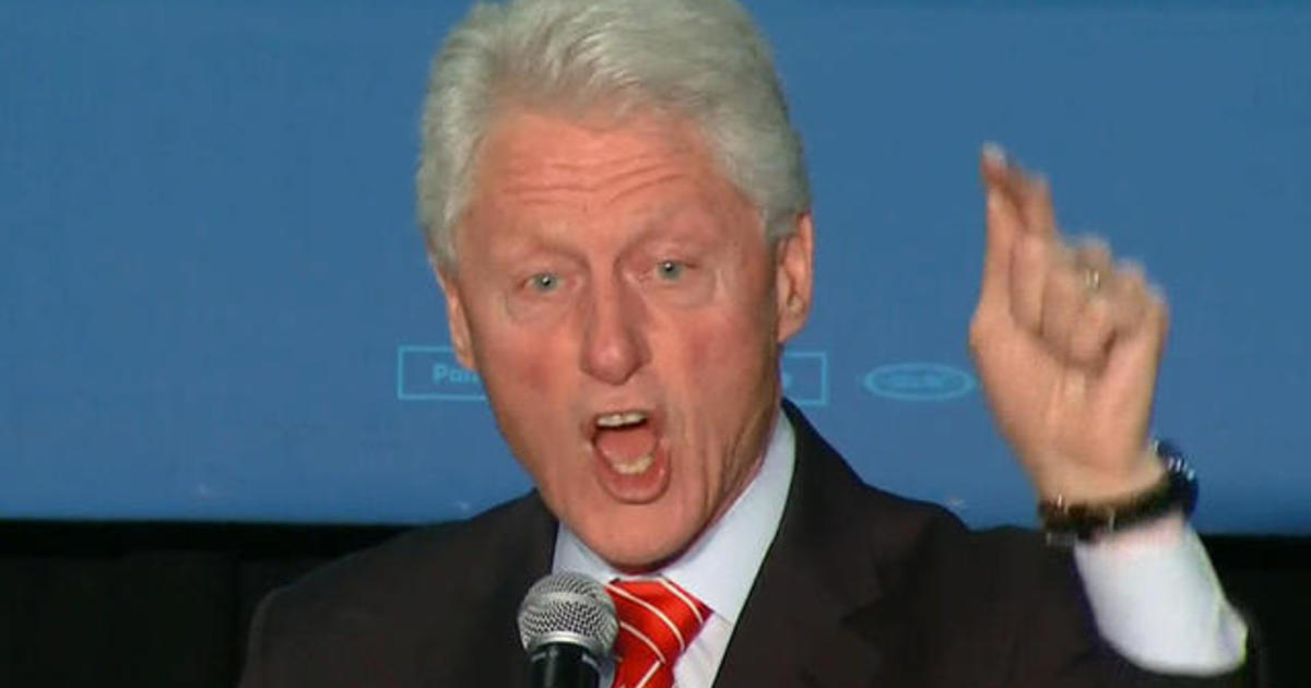 Bill Clinton heckled over 1994 crime bill in Philadelphia
