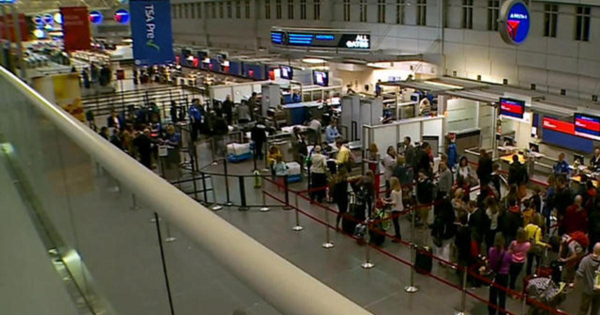 Long airport lines lead to short tempers