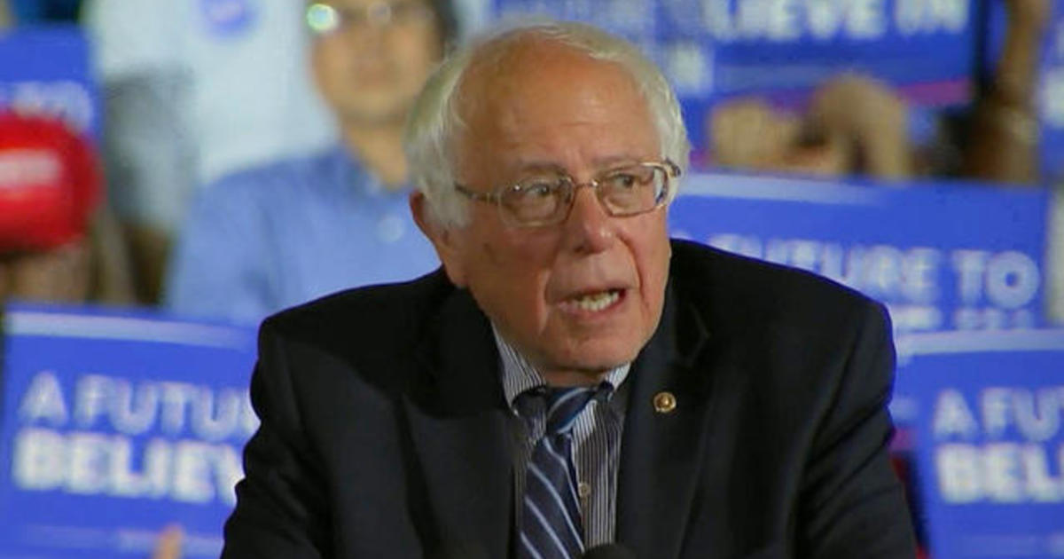 Bernie Sanders: I know it's a very steep fight