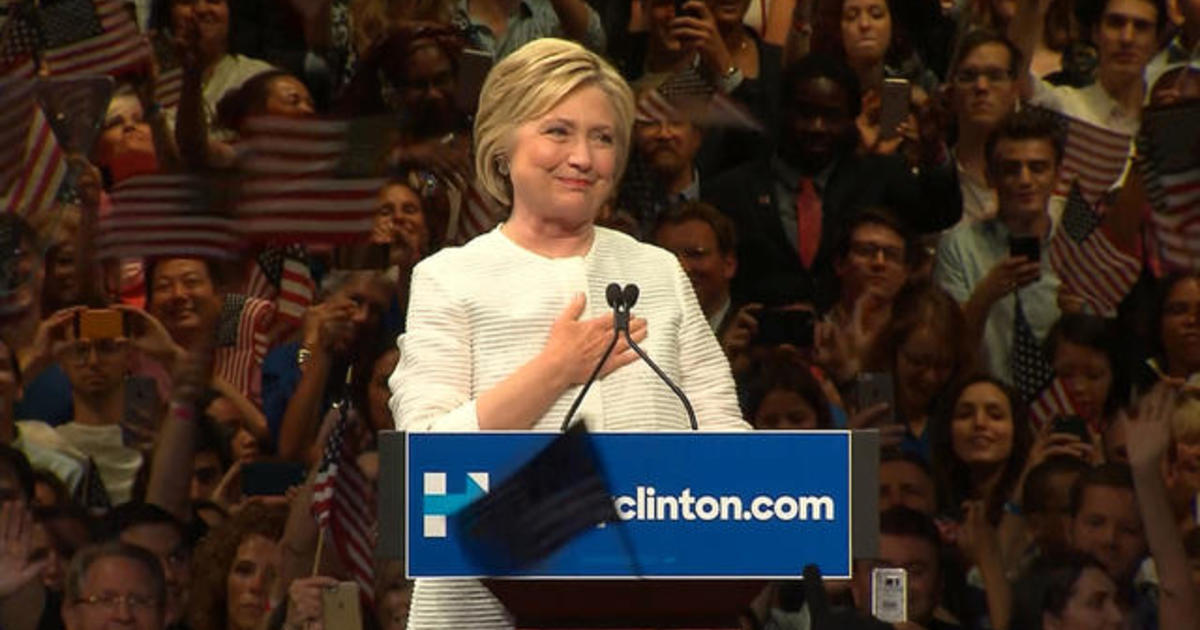Full Video: Hillary Clinton speaks after making history