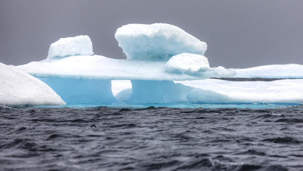 Ice floe in the Northwest Passage