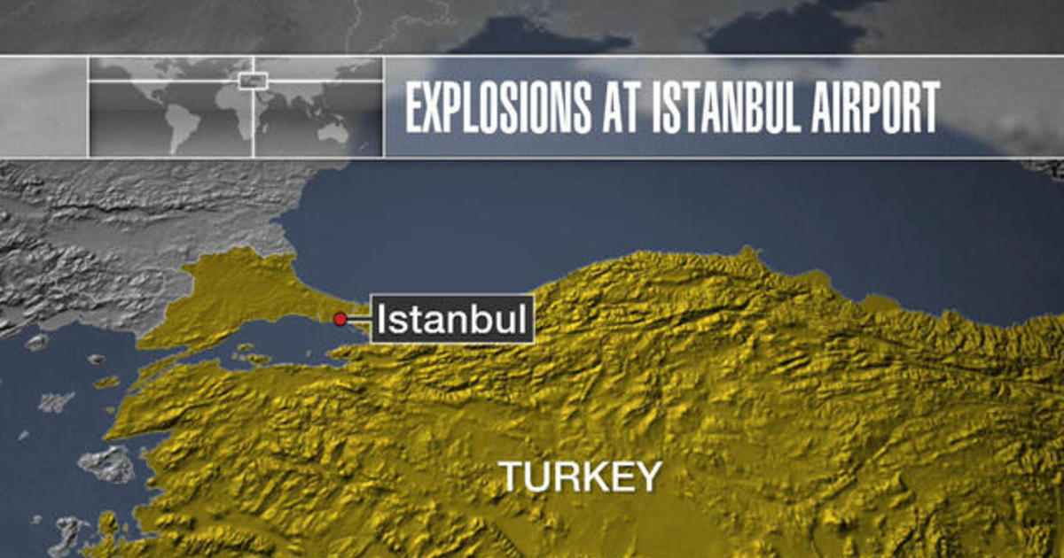 Deadly explosions at Istanbul's Ataturk Airport