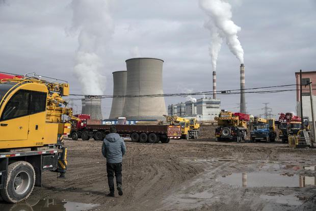 Coal Fired Power Plant in Jiayuguan