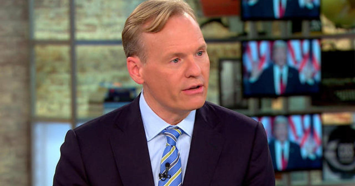 Dickerson: Trump's acceptance speech was all about him