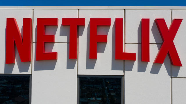 Netflix Headquarters Ahead Of Earnings Figures