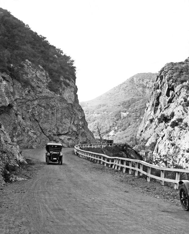 Topanga Canyon Road In LA