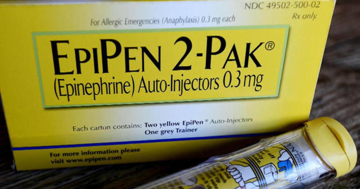 Price of life-saving EpiPen is soaring