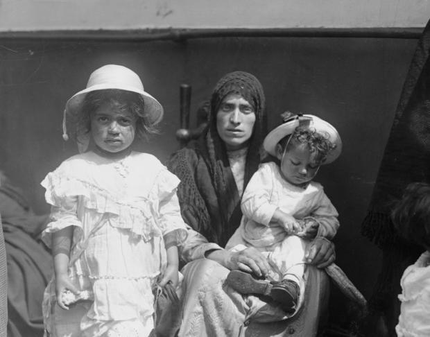 Italian Immigrants in 1921