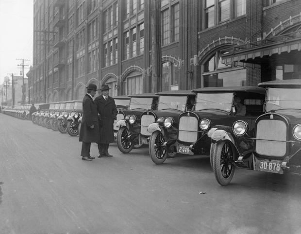 Car Makers Inspecting Their Product