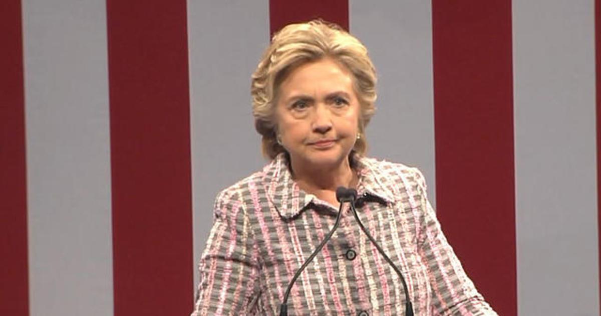 WATCH: Hillary Clinton speaks on national service