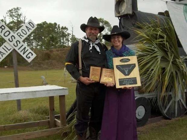 Ray and Dani Green in costume