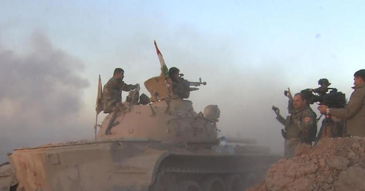 U.S. forces back Iraq army's major offensive against ISIS
