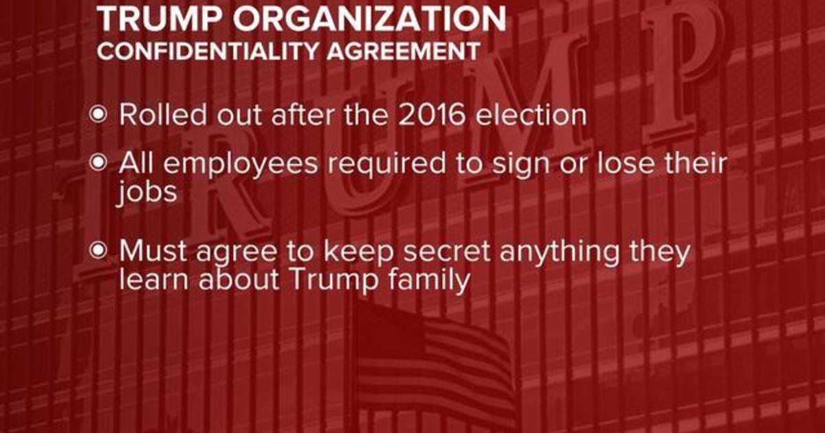 Trump Organization employees must agree to not sue the company