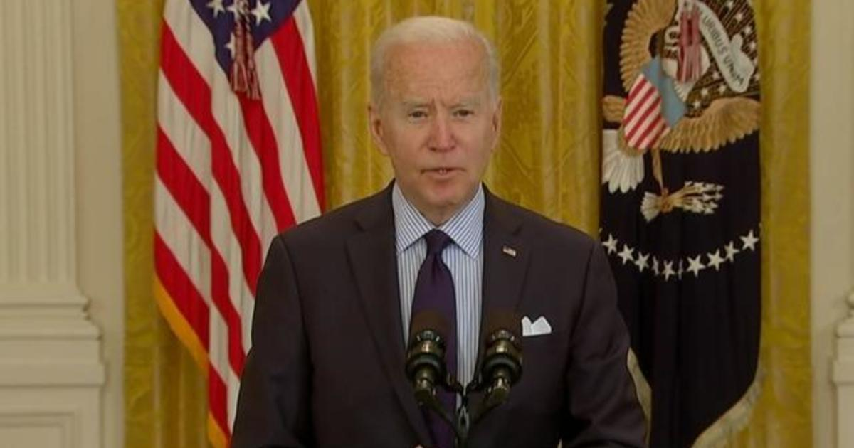 Biden pushes back as Republican-led states ending increased unemployment benefits