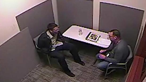 David Anthony interrogation