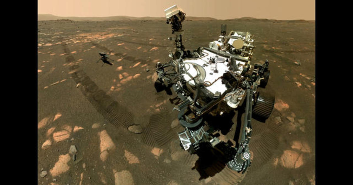 Perseverance rover, Ingenuity helicopter, and the search for ancient life on Mars