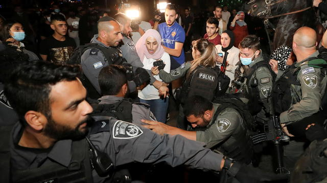 FILE PHOTO: Jerusalem clashes ahead of court case on Palestinians' eviction