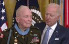 Col. Ralph Puckett and President Biden