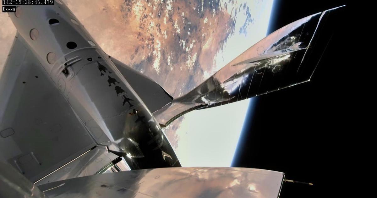 Virgin Galactic completes third successful spaceflight